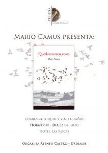 E-160722 - Cartel Evento Camus