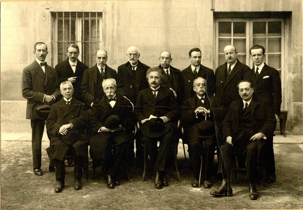 La Edad de Plata -1923 visita de Einstein a la Universidad Complutense de Madrid.