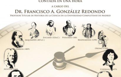 Dr. Francisco A. González Redondo – El próximo viernes en la Residencia – 19:00 horas