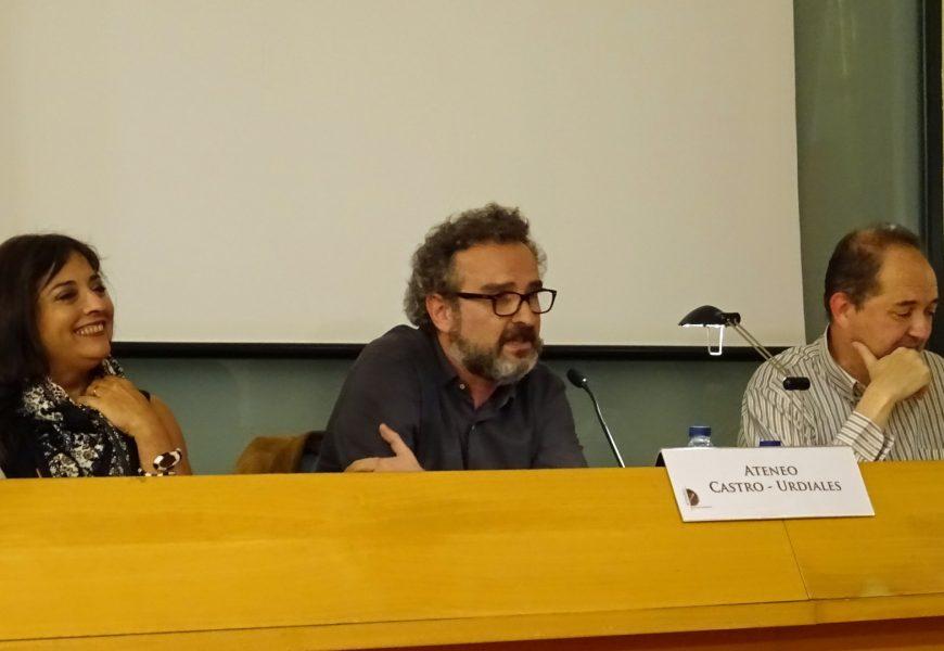 Andrés Ortiz Tafur presentó su tercer libro de relatos «TIPOS DUROS»