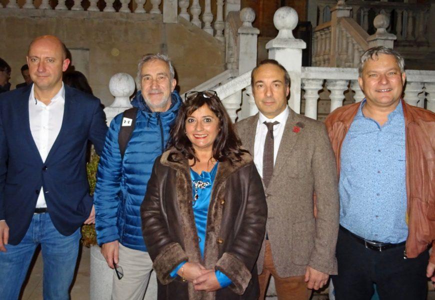 César Charro y Ramón Cosió imparten una conferencia sobre Terrorismo Yihadista