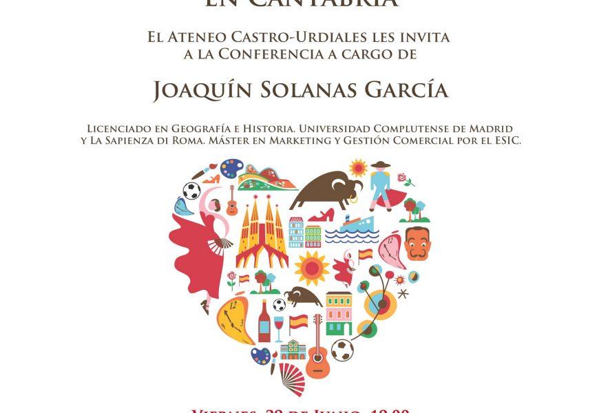 «Retos y perspectivas culturales en Cantabria» – Joaquín Solanas García