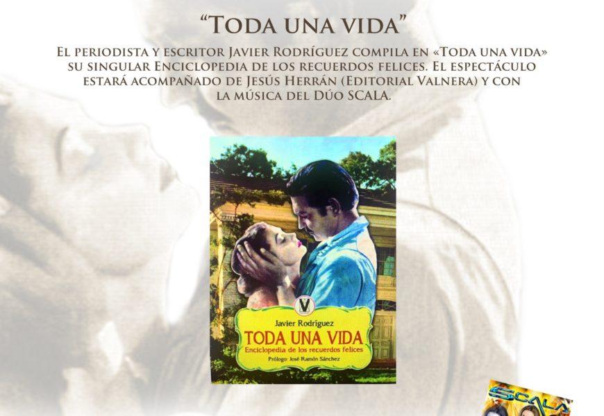 El próximo sábado Javier Rodríguez presentará su nuevo libro «Toda una vida» en el Ateneo de Castro-Urdiales.